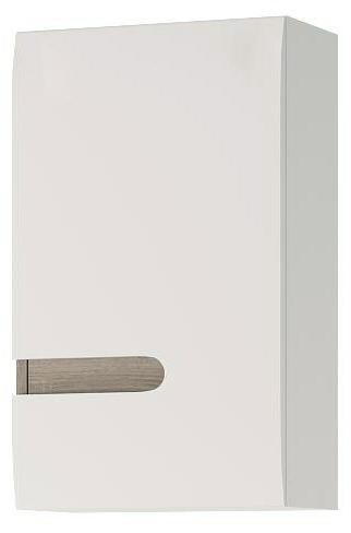 Koupelnová skříňka na stěnu - Tempo Kondela - Lynatet - Typ 157 LTB01 pravá
