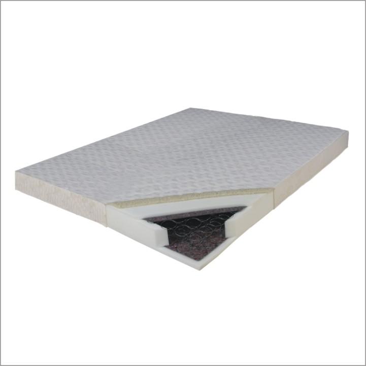 Pružinová matrace - Tempo Kondela - Barbados 200x140 cm. Lehká, kvalitní, pružná a prodyšná matrace s bonellovými pružinami a potahem se zimní a letní stranou. Zimní strana je doplněna o vrstvu ovčí vlny.