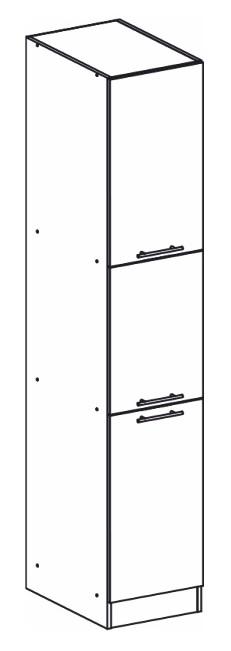 Potravinová kuchyňská skříň - Tempo Kondela - Monda - S40/210/57
