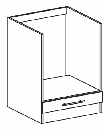 Dolní kuchyňská skříňka na troubu - Tempo Kondela - Monda - S60K