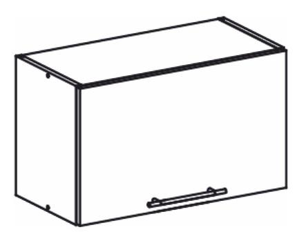 Horní kuchyňská skříňka nad digestoř - Tempo Kondela - Monda - W60OK