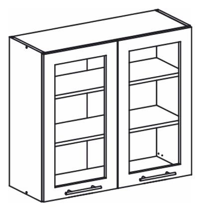 Horní kuchyňská skříňka - Tempo Kondela - Monda - W80S