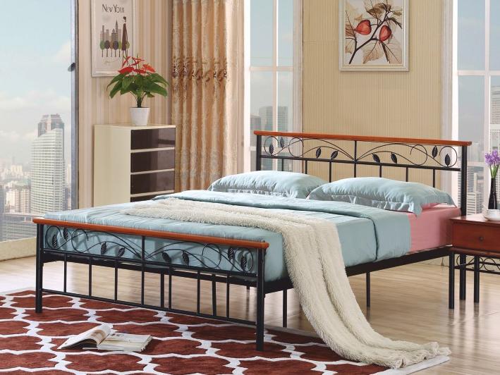 Manželská postel 180 cm - Tempo Kondela - Morena (s roštem)