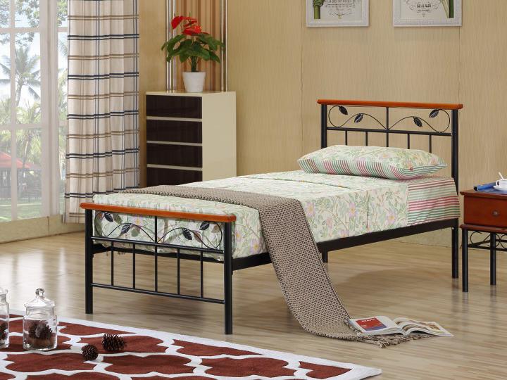 Jednolůžková postel 90 cm - Tempo Kondela - Morena (s roštem)