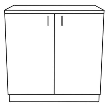 Spodní kuchyňská skříňka - Tempo Kondela - Narcis - D-80