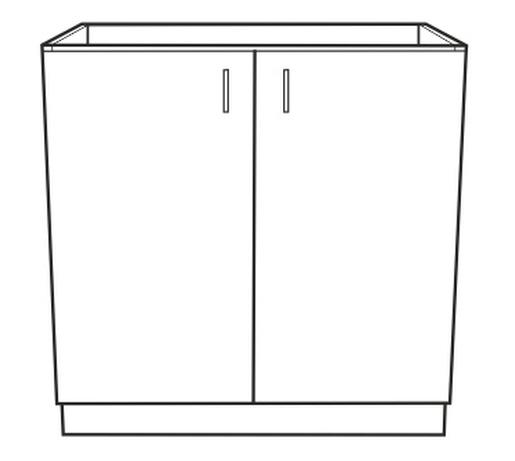 Spodní kuchyňská skříňka - Tempo Kondela - Narcis - DZ-80