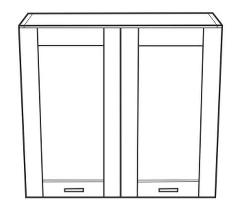 Horní kuchyňská skříňka - Tempo Kondela - Narcis - GW-80
