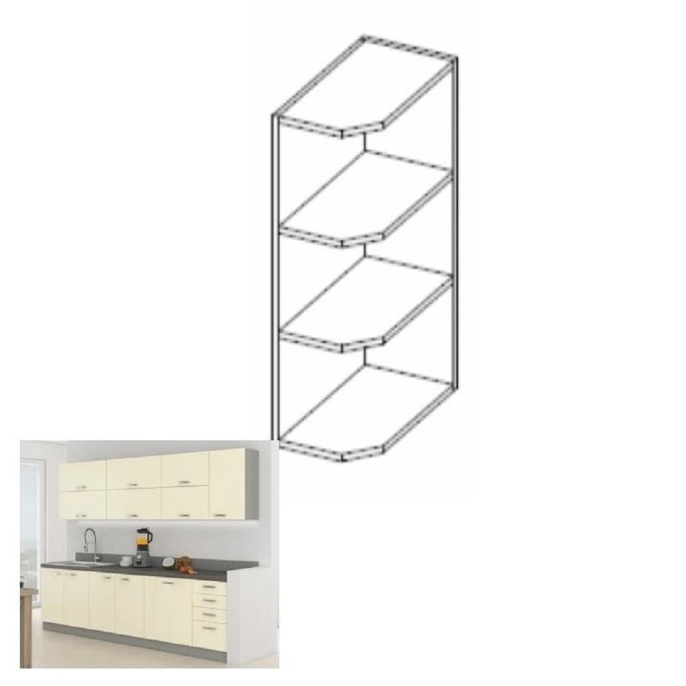 Horní kuchyňská skříňka - Tempo Kondela - Pleitton - 30 G ZAK 72