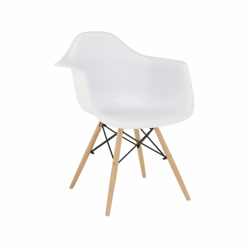 Jídelní židle - Tempo Kondela - Damiron PC-019 (bílá)