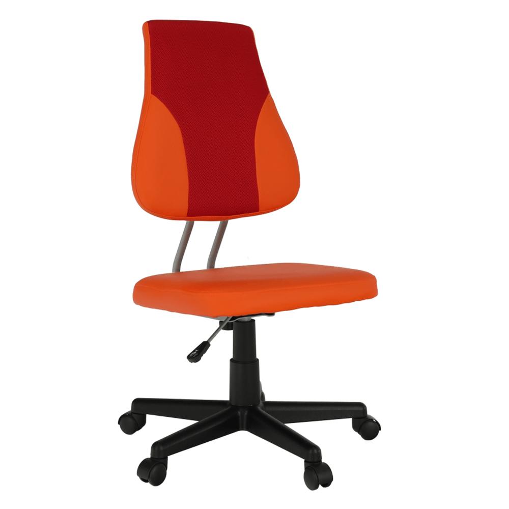 Kancelářské křeslo - Tempo Kondela - Randren (červená + oranžová)