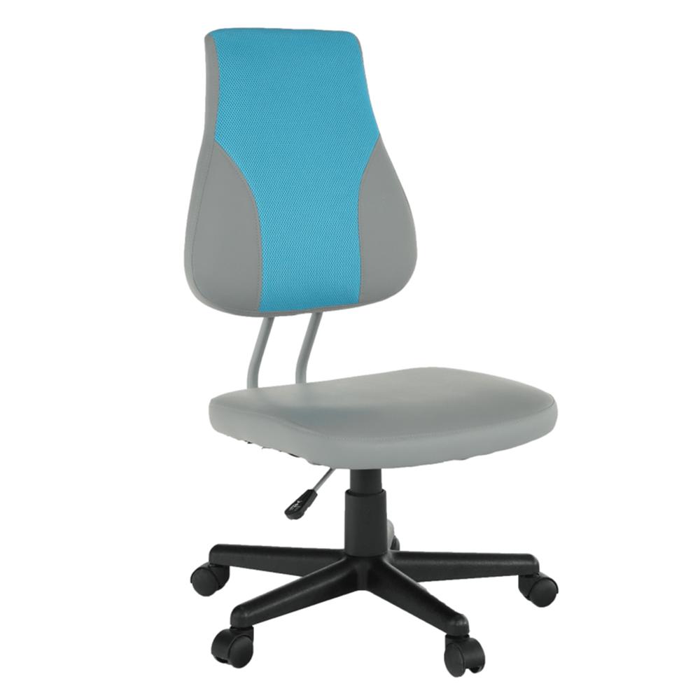 Kancelářské křeslo - Tempo Kondela - Randren (šedá + modrá)