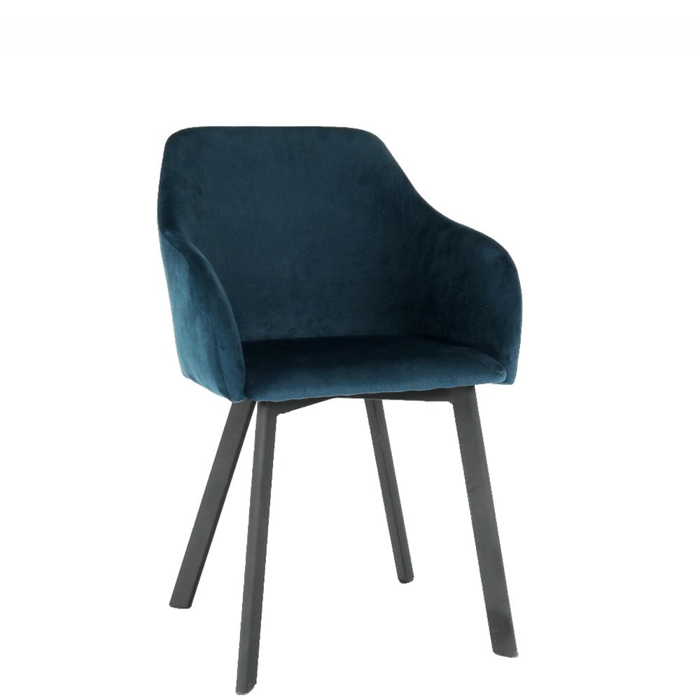 Jídelní židle - Tempo Kondela - Talira (modrá + černá)
