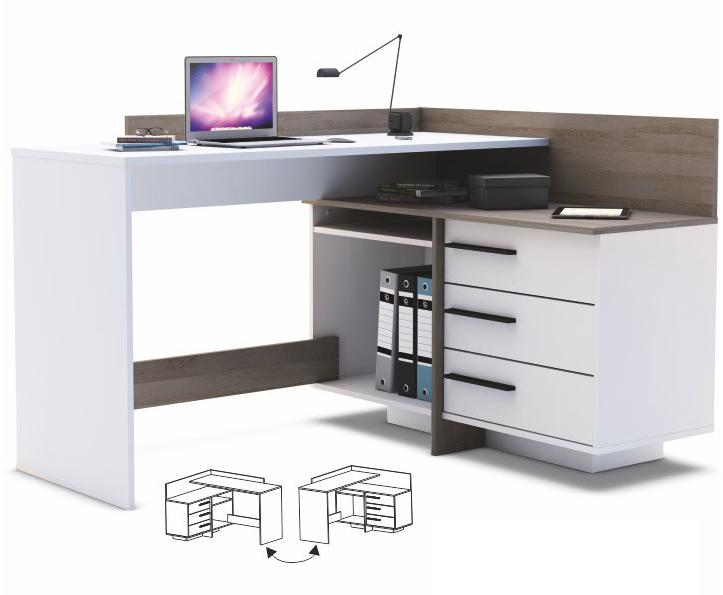 Rohový PC stolek - Tempo Kondela - Tale 484879