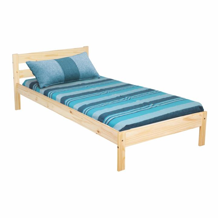 Jednolůžková postel 90 cm - Tempo Kondela - Nimbos (masiv) (s roštem)