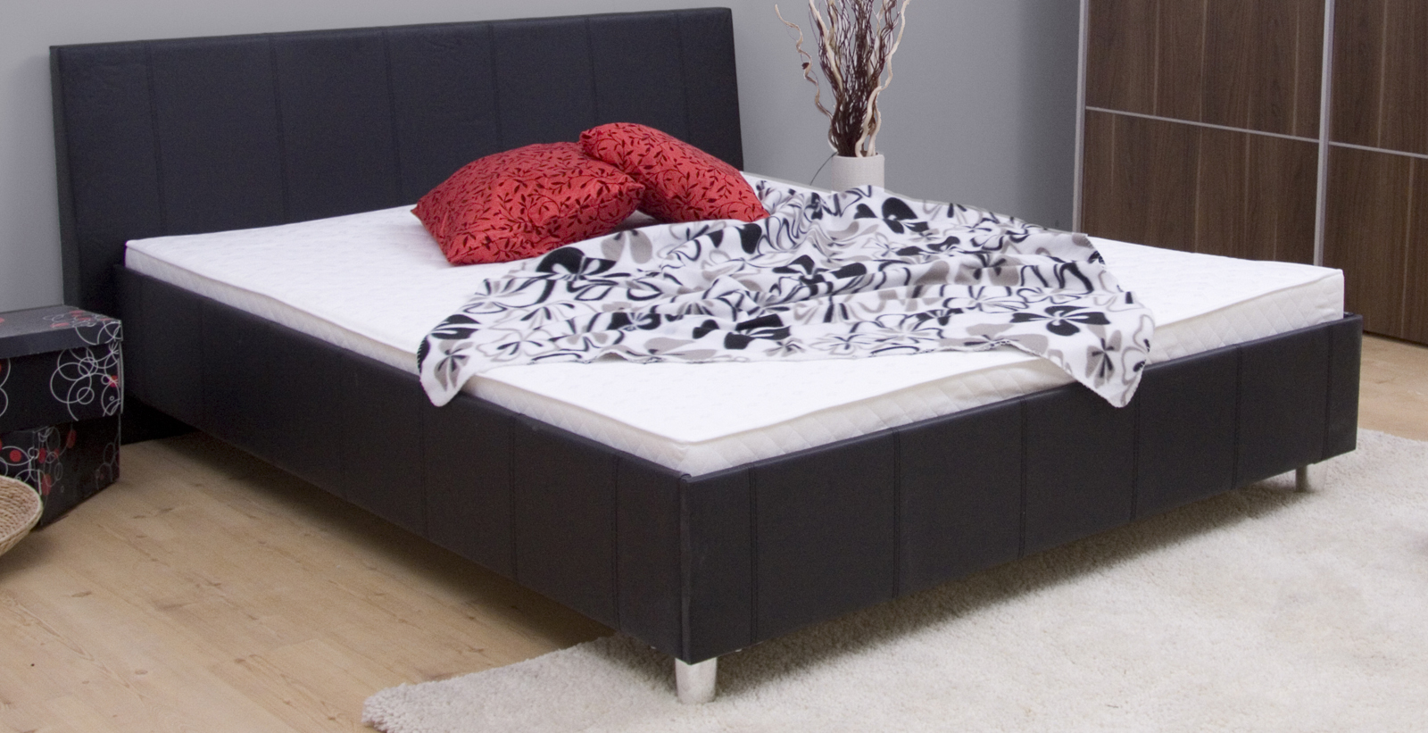 0f7ec88ce2a2 Manželská postel 160 cm Mexiko III (s roštem a matrací ...