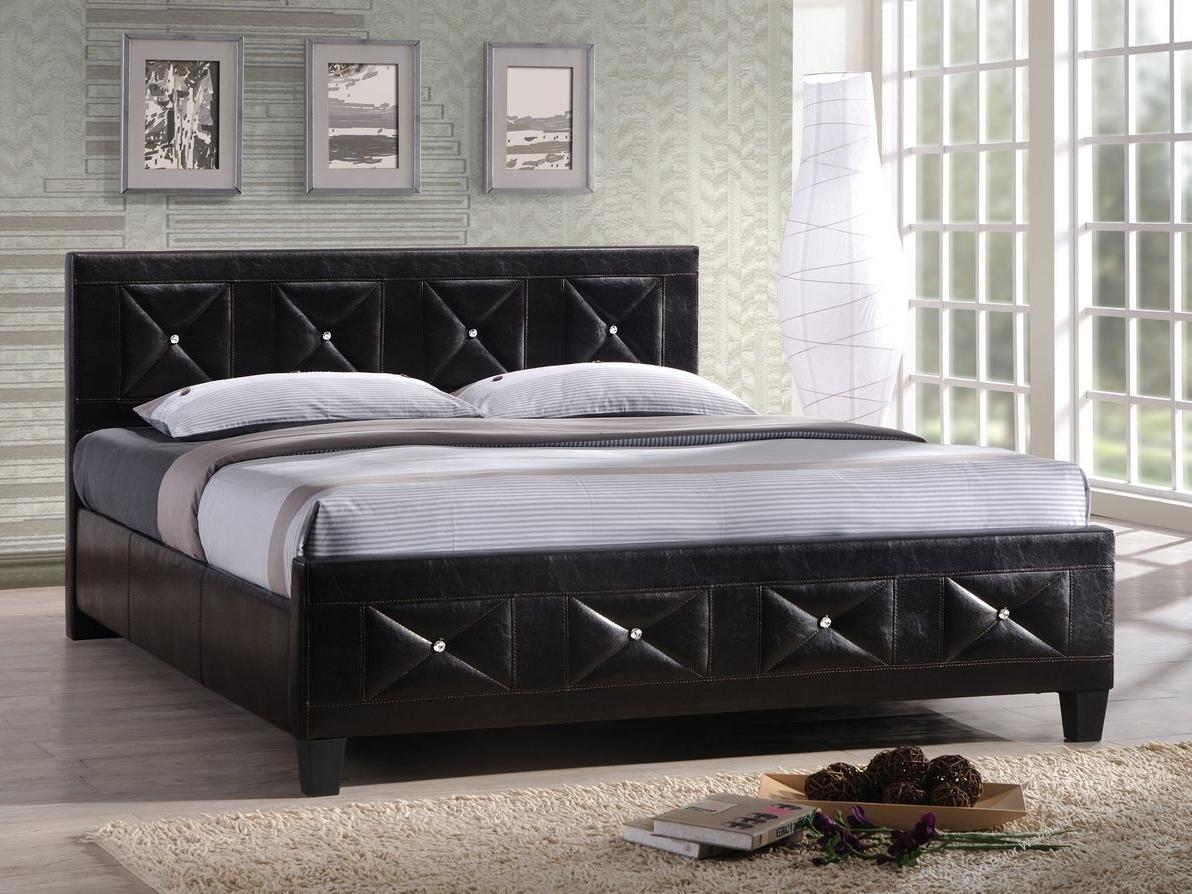 Manželská postel 160 cm - Tempo Kondela - Carisa (s roštem)