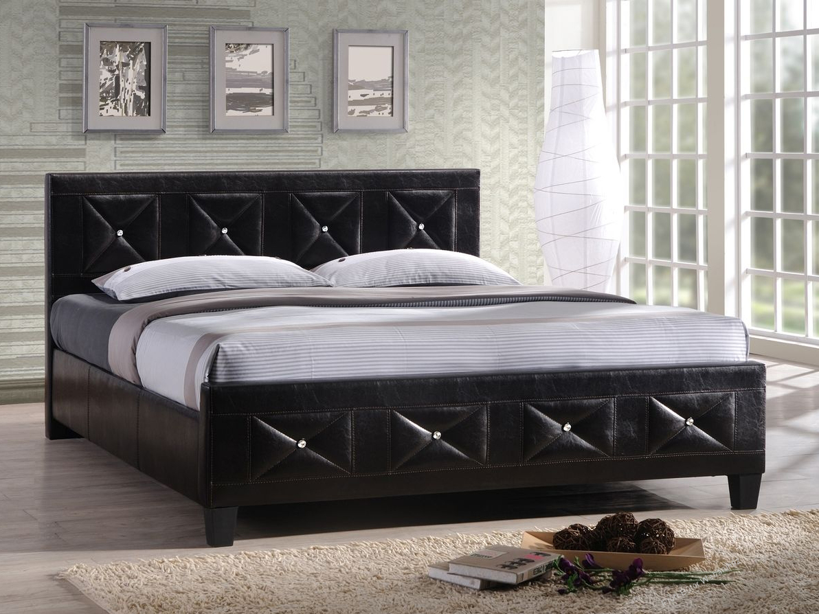 Manželská postel 180 cm - Tempo Kondela - Carisa (s roštem)
