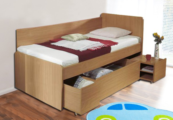 Jednolůžková postel 90 cm - Tempo Kondela - Oto 81219