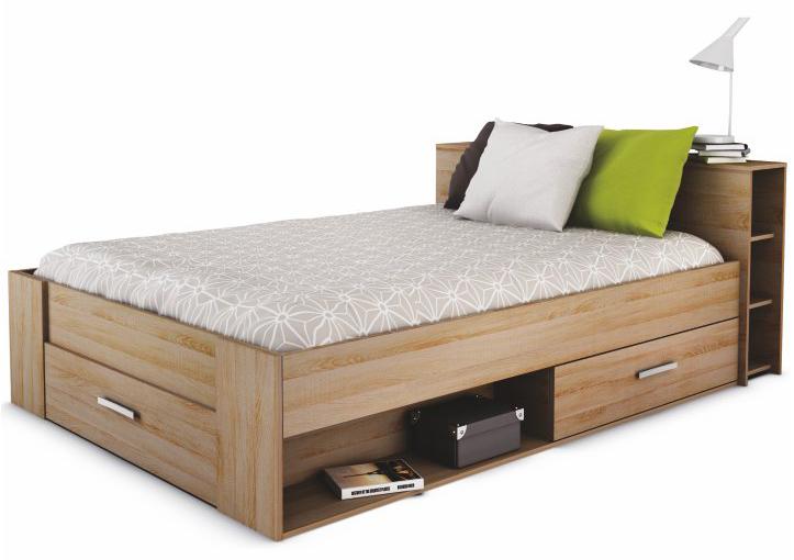 Manželská postel 140 cm - Tempo Kondela - Roket