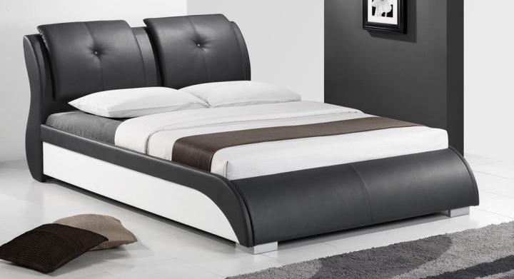 Manželská postel 160 cm - Tempo Kondela - Torenzo (s roštem) *masážní přístroj ZDARMA