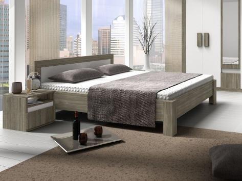 Manželská postel 160 cm - Tempo Kondela - Mediolan