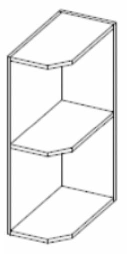 Dolní kuchyňská skříňka - Tempo Kondela - Prado - 30 D ZAK BB