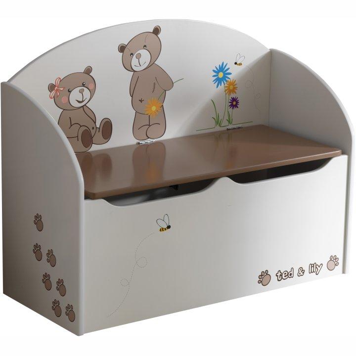 Box na hračky - Tempo Kondela - Puff 234549