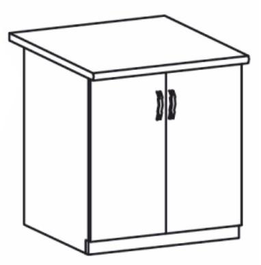 Dolní kuchyňská skříňka - Tempo Kondela - Royal - D60