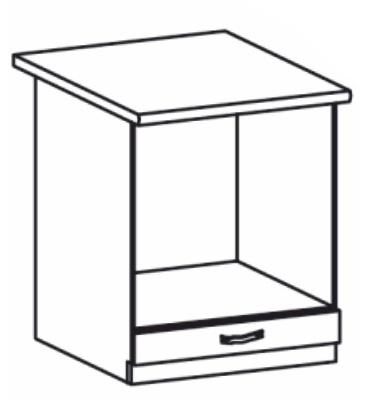 Dolní kuchyňská skříňka na troubu - Tempo Kondela - Royal - D60ZK