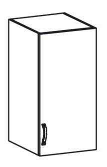 Horní kuchyňská skříňka - Tempo Kondela - Royal - G40
