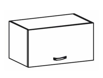 Horní kuchyňská skříňka nad digestoř - Tempo Kondela - Royal - G60KN