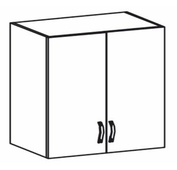 Horní kuchyňská skříňka - Tempo Kondela - Royal - G80