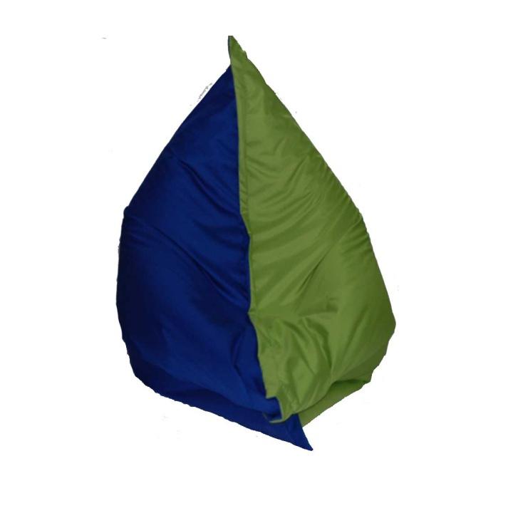 Sedací vak - Tempo Kondela - Pilov (zelená + modrá)