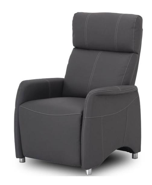 Relaxační křeslo - Tempo Kondela - Forest - CH-113100 kůže PU černá