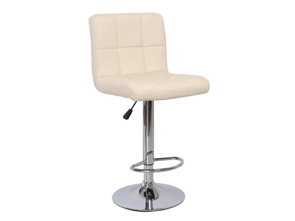 Barová židle - Tempo Kondela - Kandy (béžová + chrom)