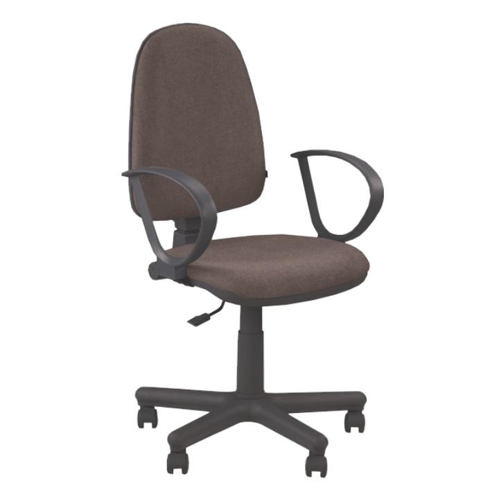 Kancelářská židle - Tempo Kondela - Jupiter GTS hnědá (s područkami)