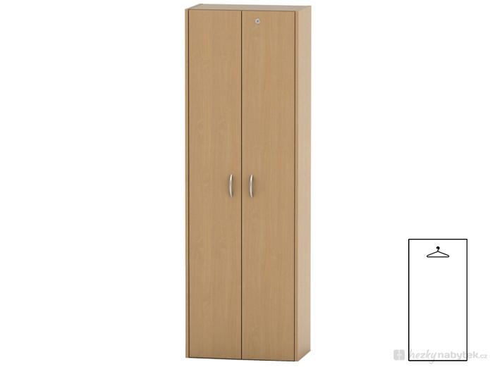 Šatní skříň - Tempo Kondela - Tempo Asistent New - AS 006 buk