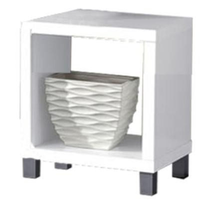 Noční stolek - Tempo Kondela - Tofi New 1 CB - 101 bílá