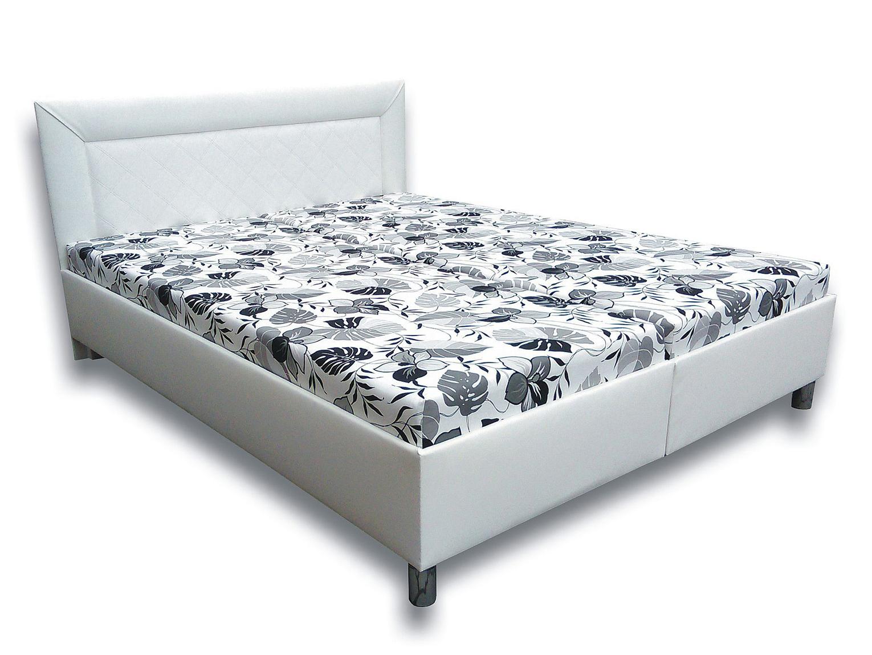 Manželská postel 160 cm - Važo - Katka VN (s matracemi)
