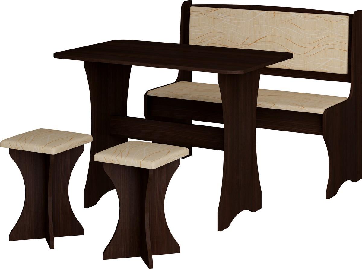 Jídelní set - WIP - wenge + monaco (s taburetkami) (pro 4 osoby)