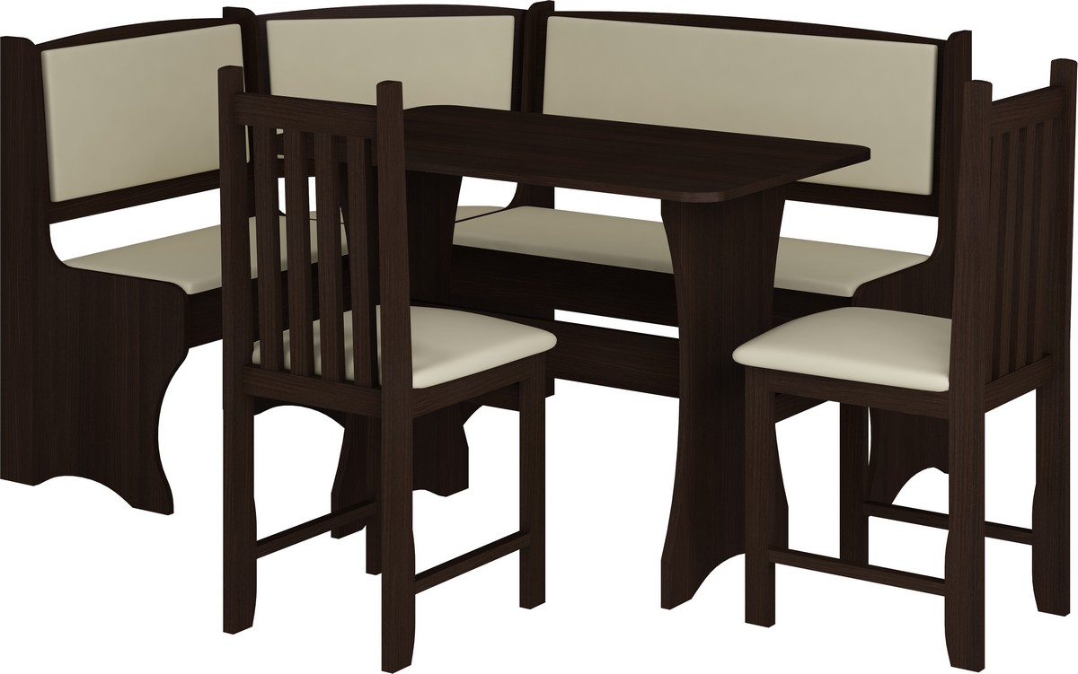 Jídelní set - WIP - B wenge (s židlemi) (pro 5 osob)