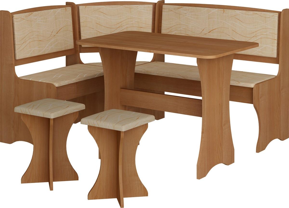 Jídelní set - WIP - olše (s taburetkami) (pro 5 osob)