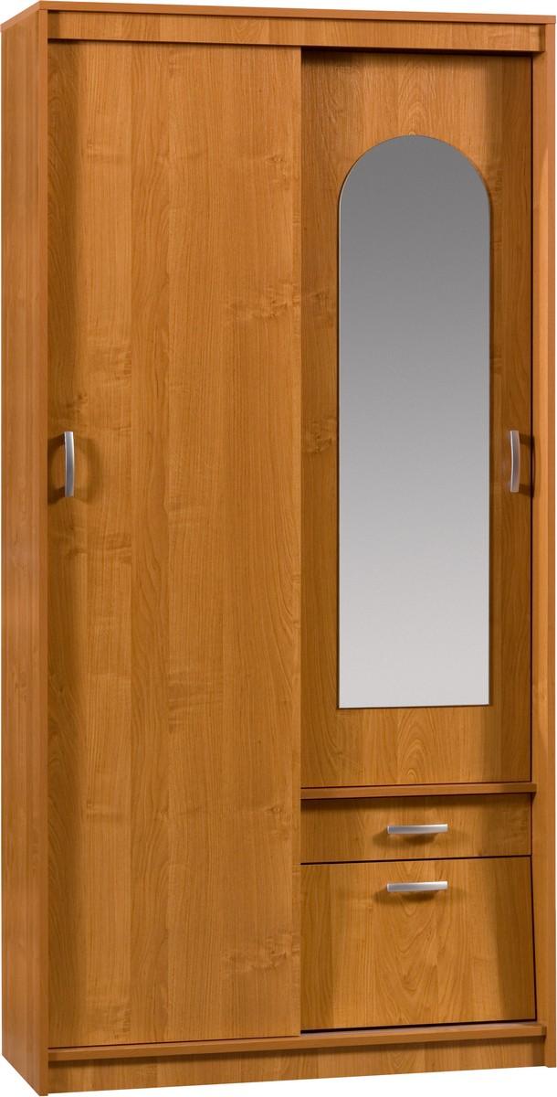 Šatní skříň - WIP - Aleksander 3 (se zrcadlem)