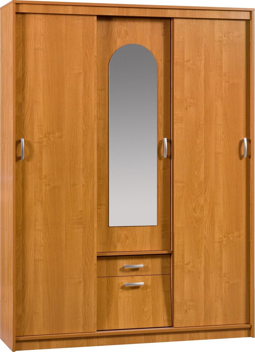 Šatní skříň - WIP - Aleksander 4 (se zrcadlem)