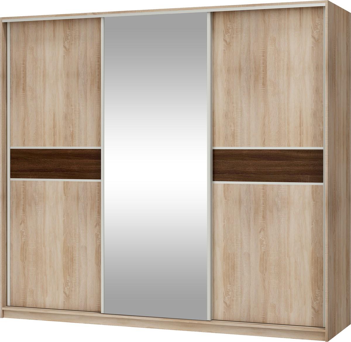 Šatní skříň - WIP - Puerto 240 C (se zrcadlem)