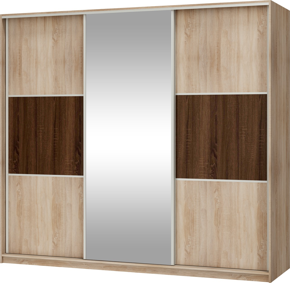Šatní skříň - WIP - Rico 240 C (se zrcadlem)
