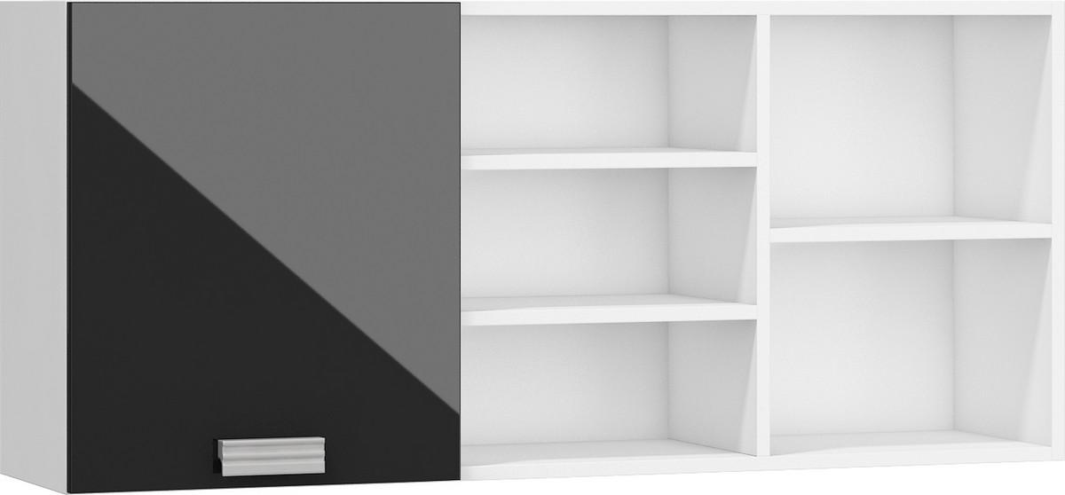 Polička - WIP - Solo Bílá + Lesk černý