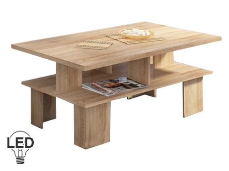Konferenční stolek - WIP - Supra 2 (sonoma světlá)