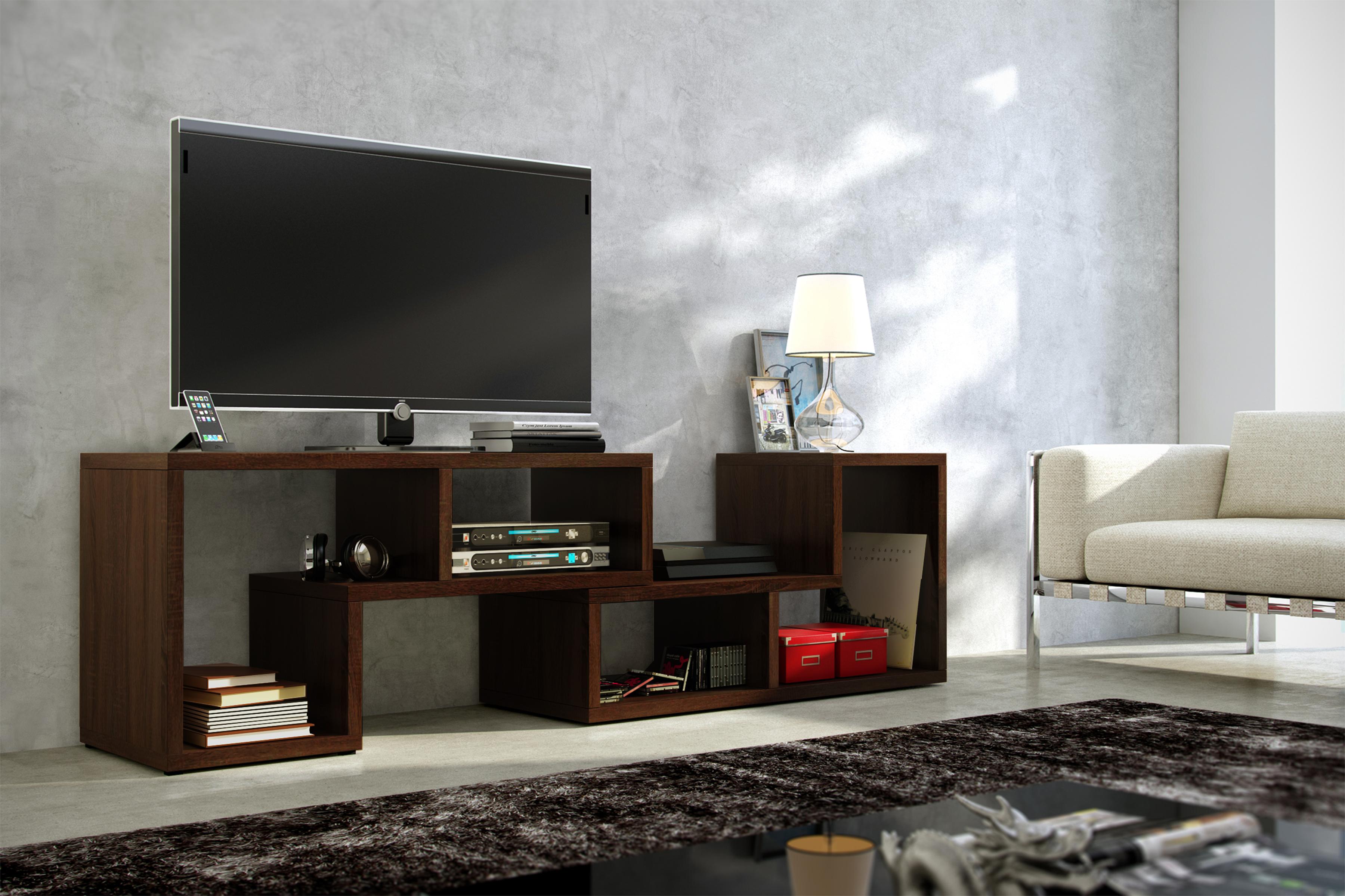 TV stolek - WIP - Top dub sonoma tmavý