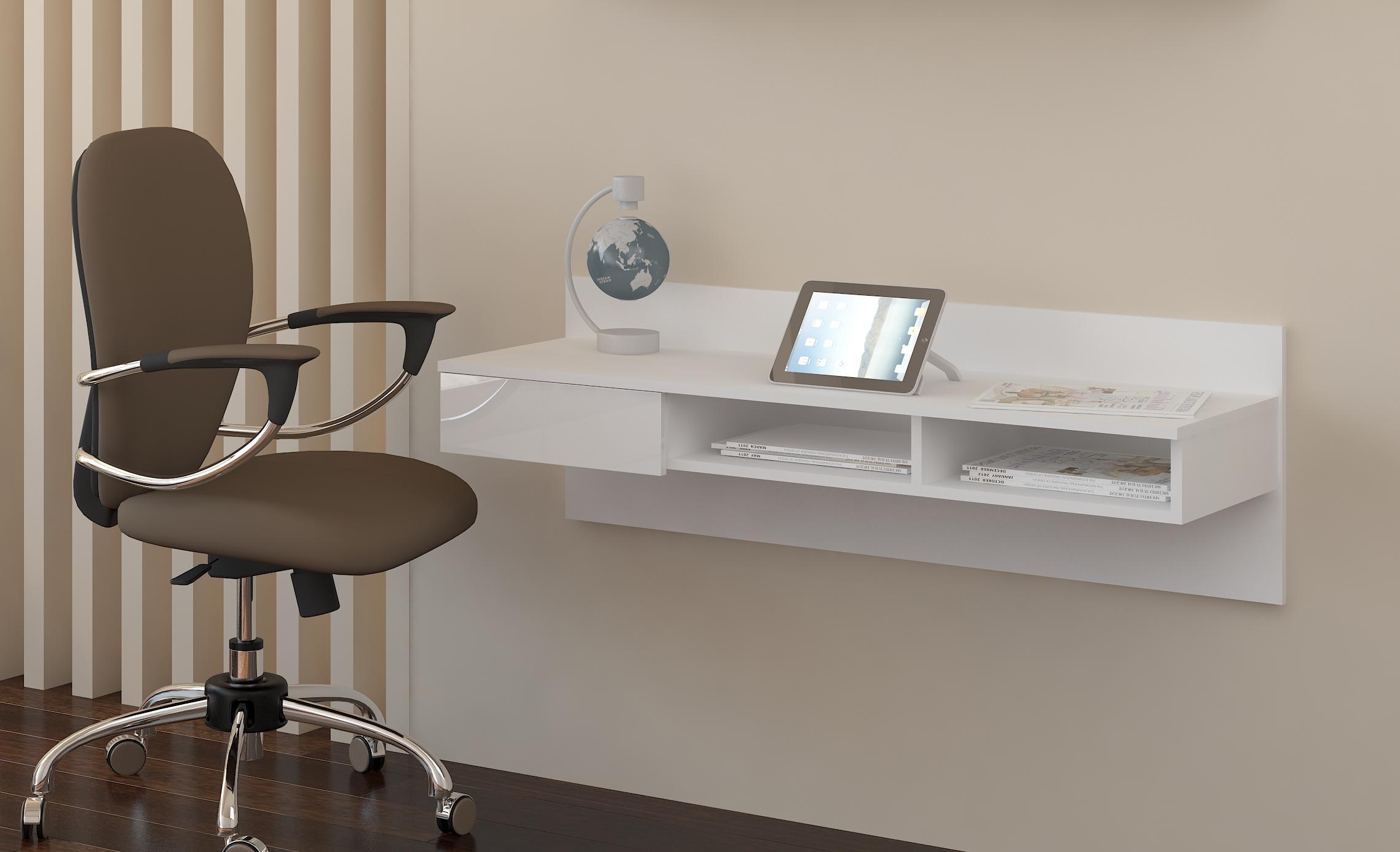 PC stolek - WIP - Uno bílá + lesk bílý